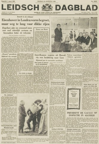 Leidsch Dagblad 1959-08-28