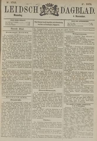 Leidsch Dagblad 1878-11-04