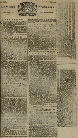 Leydse Courant 1808-08-17