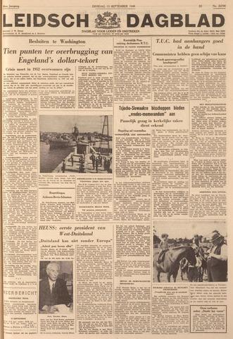 Leidsch Dagblad 1949-09-13