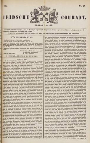 Leydse Courant 1884-03-07