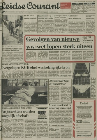 Leidse Courant 1985-09-13