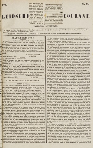 Leydse Courant 1885-02-14