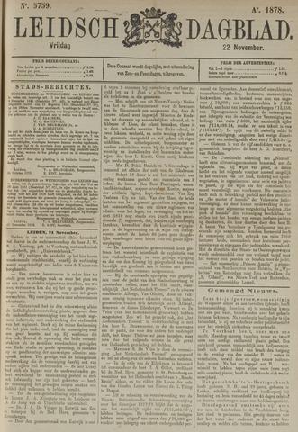 Leidsch Dagblad 1878-11-22