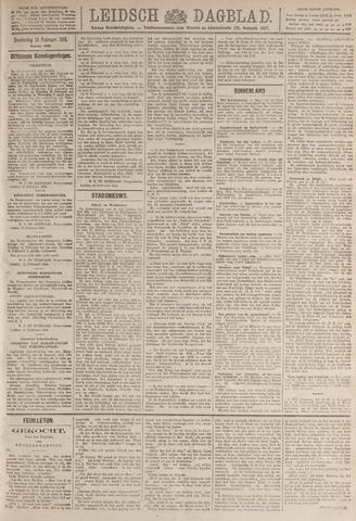 Leidsch Dagblad 1919-02-13