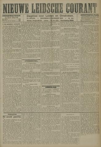 Nieuwe Leidsche Courant 1923-11-21