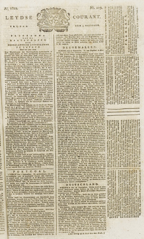 Leydse Courant 1822-10-04
