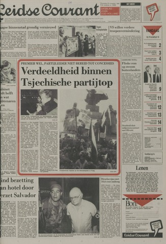Leidse Courant 1989-11-22