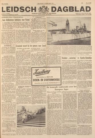 Leidsch Dagblad 1951-02-05