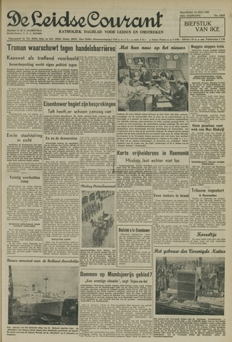 Leidse Courant 1952-07-14