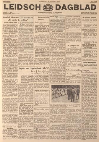 Leidsch Dagblad 1947-09-18