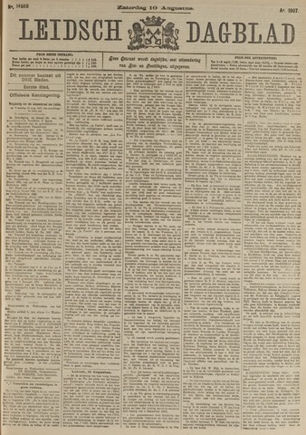 Leidsch Dagblad 1907-08-10