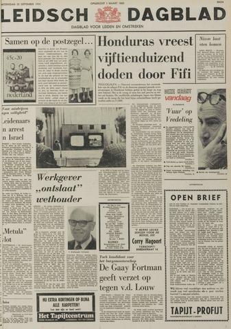 Leidsch Dagblad 1974-09-25