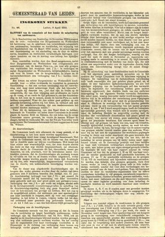 Handelingen van de Raad 1919-04-08