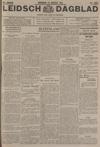 Leidsch Dagblad 1938-08-25
