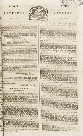 Leydse Courant 1844-04-08