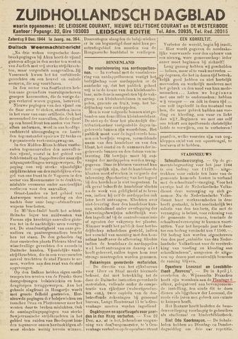 Zuidhollandsch Dagblad 1944-12-09