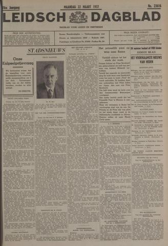 Leidsch Dagblad 1937-03-22