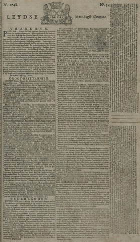 Leydse Courant 1748-03-18