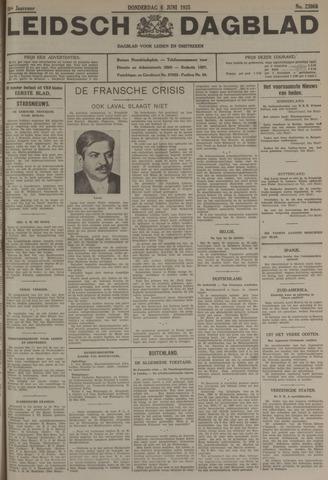Leidsch Dagblad 1935-06-06