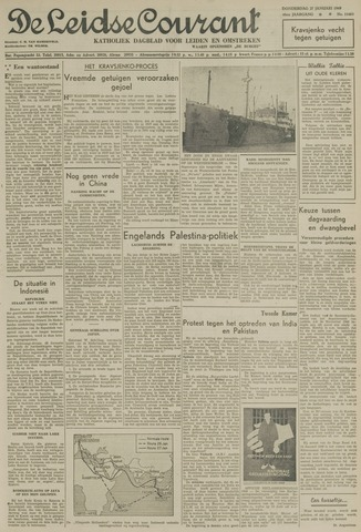 Leidse Courant 1949-01-27