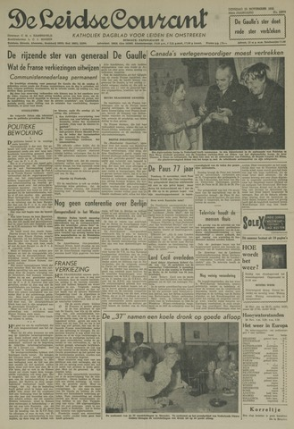 Leidse Courant 1958-11-25
