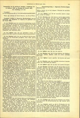 Handelingen van de Raad 1933-02-28