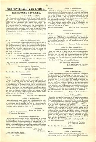 Handelingen van de Raad 1910-02-23