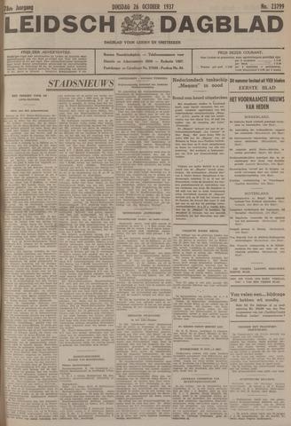Leidsch Dagblad 1937-10-26