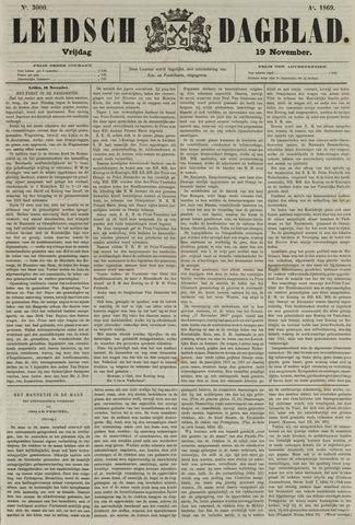 Leidsch Dagblad 1869-11-19