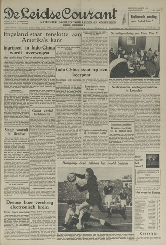 Leidse Courant 1954-05-24