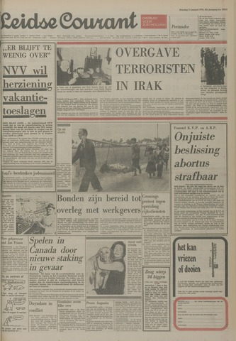 Leidse Courant 1975-01-21
