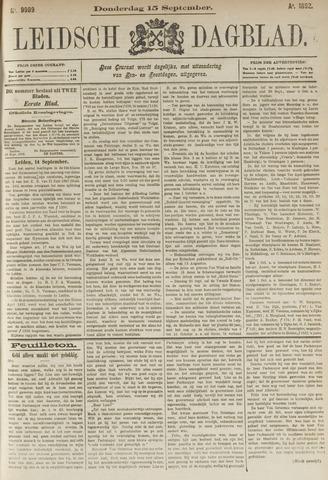 Leidsch Dagblad 1892-09-15