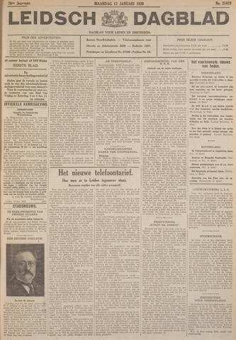 Leidsch Dagblad 1930-01-13