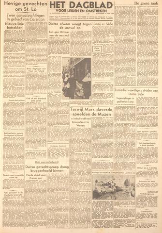 Dagblad voor Leiden en Omstreken 1944-06-14