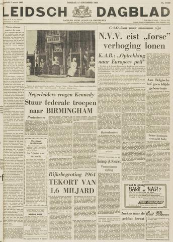 Leidsch Dagblad 1963-09-17