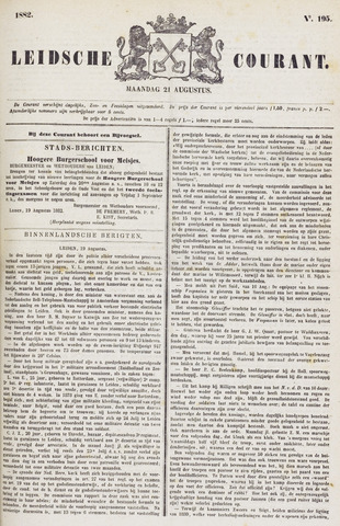 Leydse Courant 1882-08-21