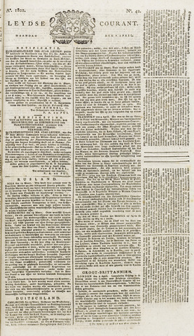 Leydse Courant 1822-04-08