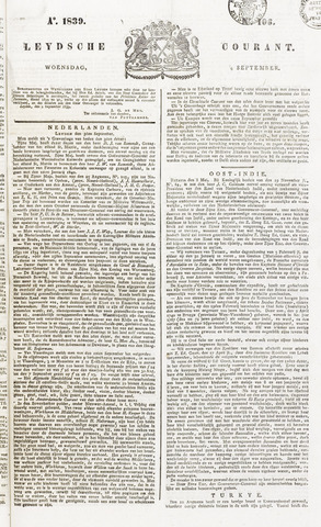 Leydse Courant 1839-09-04