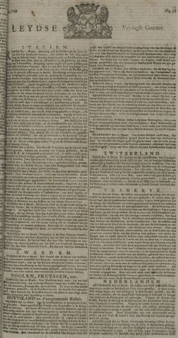 Leydse Courant 1729-03-25