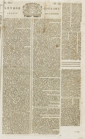 Leydse Courant 1822-11-15