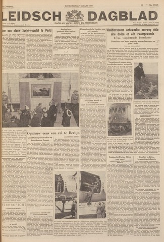 Leidsch Dagblad 1951-03-29