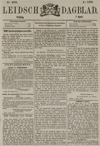 Leidsch Dagblad 1876-04-07
