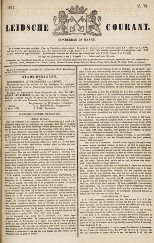 Leydse Courant 1872-03-28