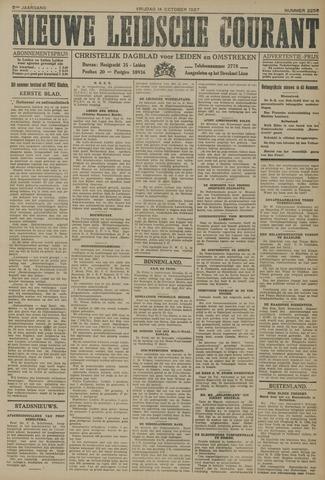 Nieuwe Leidsche Courant 1927-10-14