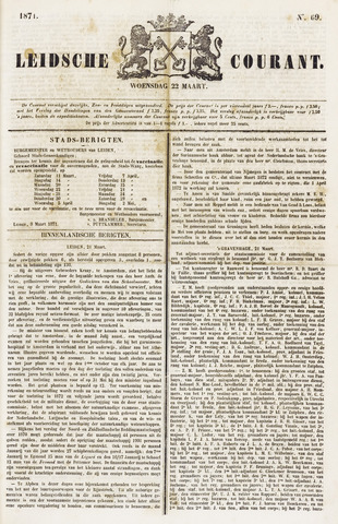 Leydse Courant 1871-03-22