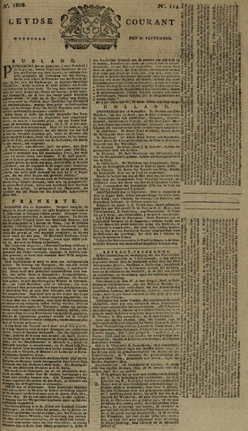 Leydse Courant 1808-09-21