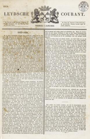 Leydse Courant 1858