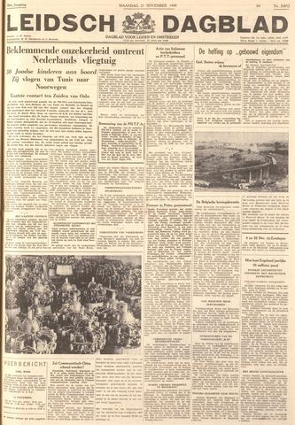 Leidsch Dagblad 1949-11-21