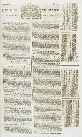 Leydse Courant 1828-08-01